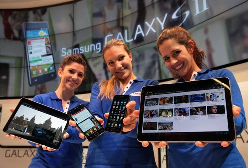 Samsung Launches Galaxy S II