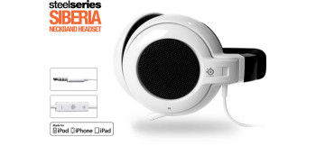 Steelseries Siberia Apple Headset