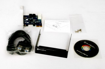 Silverstone USB 3.0 PCI Card Bundle