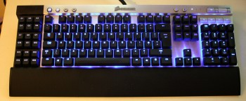 Corsair K-80 Mechanical keyboard