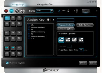 Corsair K-80 Mechanical keyboard