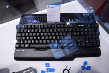 Sharkoon Mouse and Keyboard at CeBIT