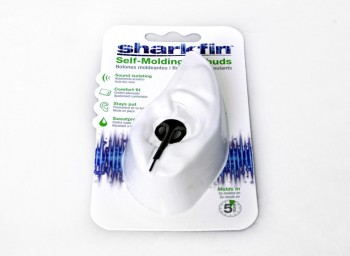 Sharkfin Self Molding Earbuds
