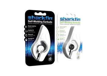 Sharkfin Self Moulding Earbuds