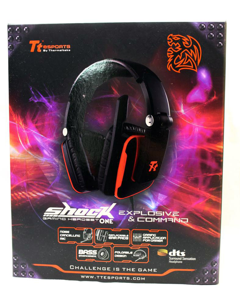 TT eSports Shock One Headset