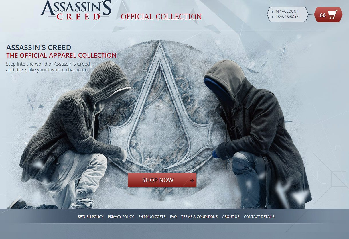 Dress Like Etzio – Assassin's Creed Clothing Launches