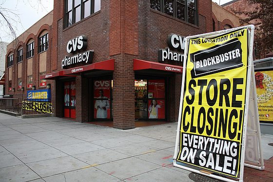 Blockbuster has been struggling everywhere in the past few years.