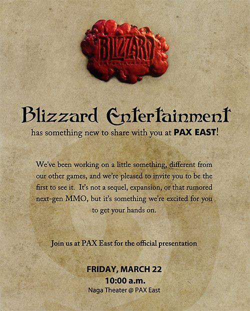 Blizzard is set to show off something big at PAX East