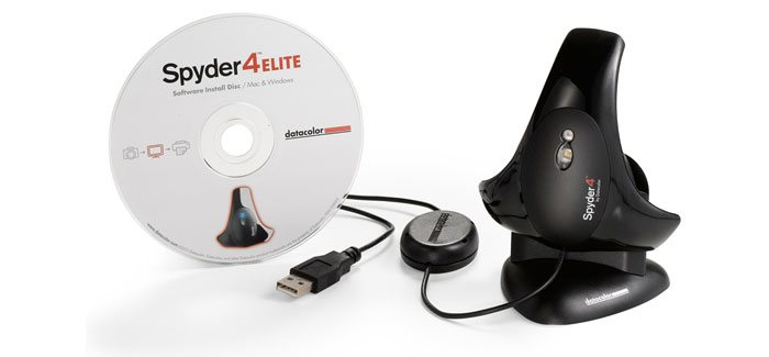 Datacolor Spyder4Elite monitor calibration tool