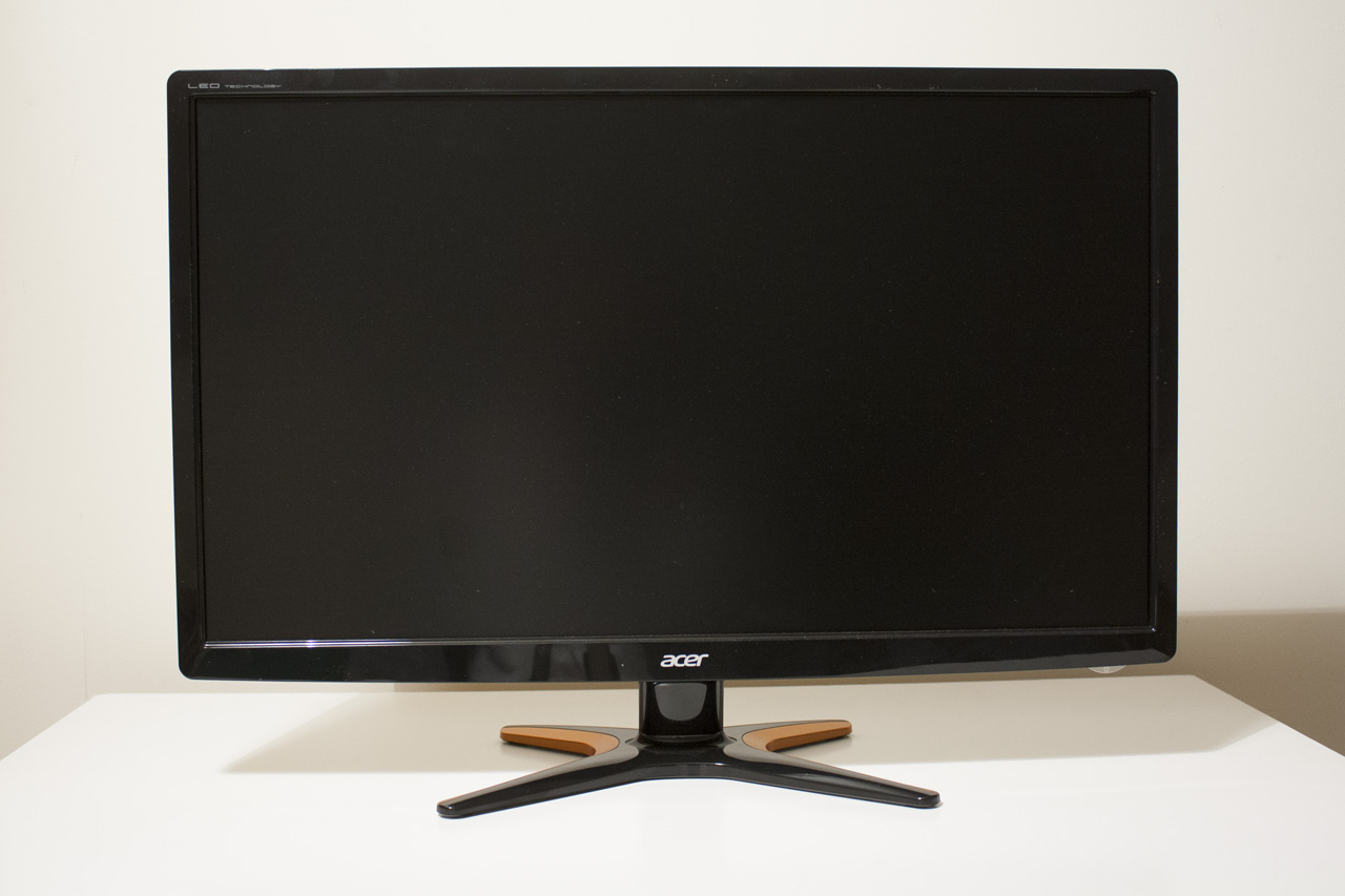 Monitor Power Button : Acer gn hlb review an affordable inch hz monitor
