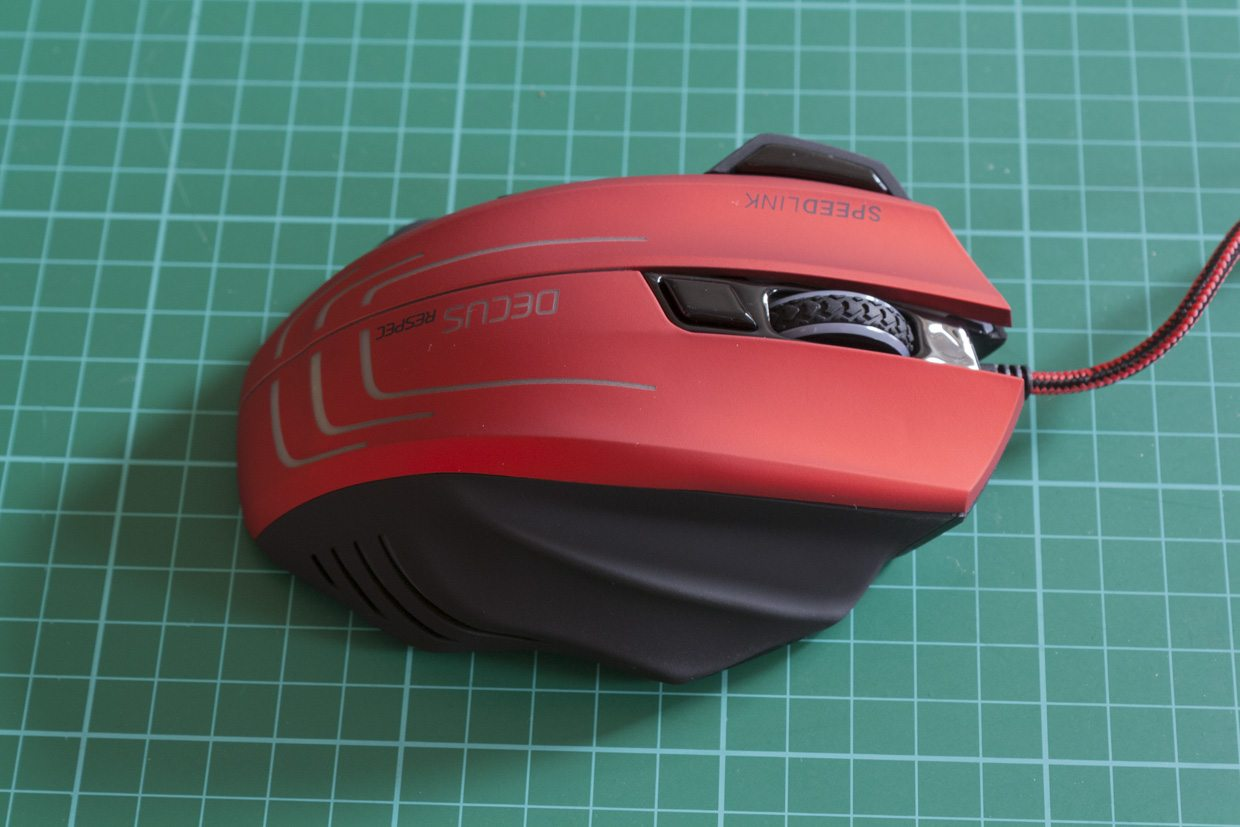 Speedlink Decus Respec gaming mouse review: comfortable