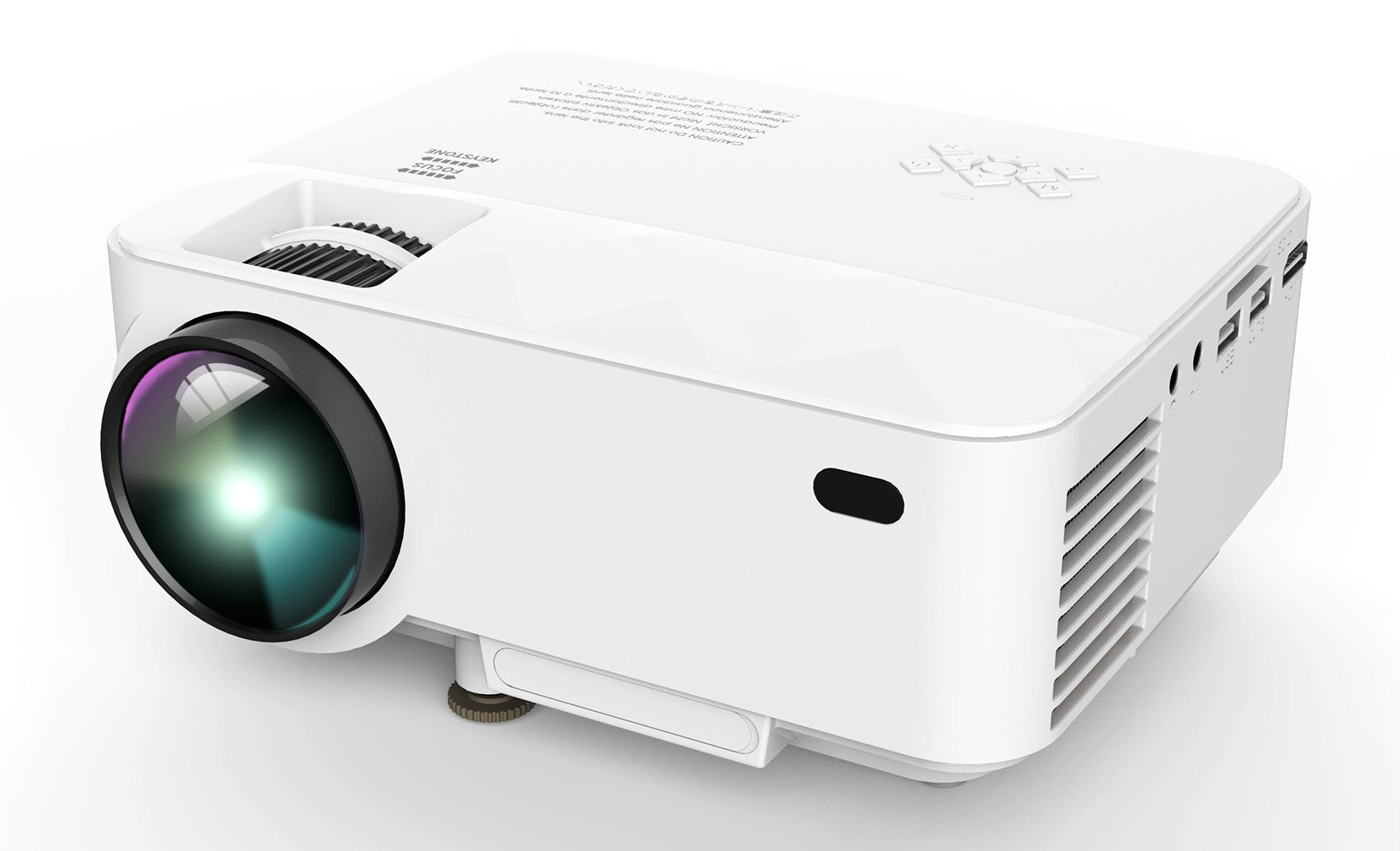 Dbpower t20 portable mini led projector review for Small video projectors reviews