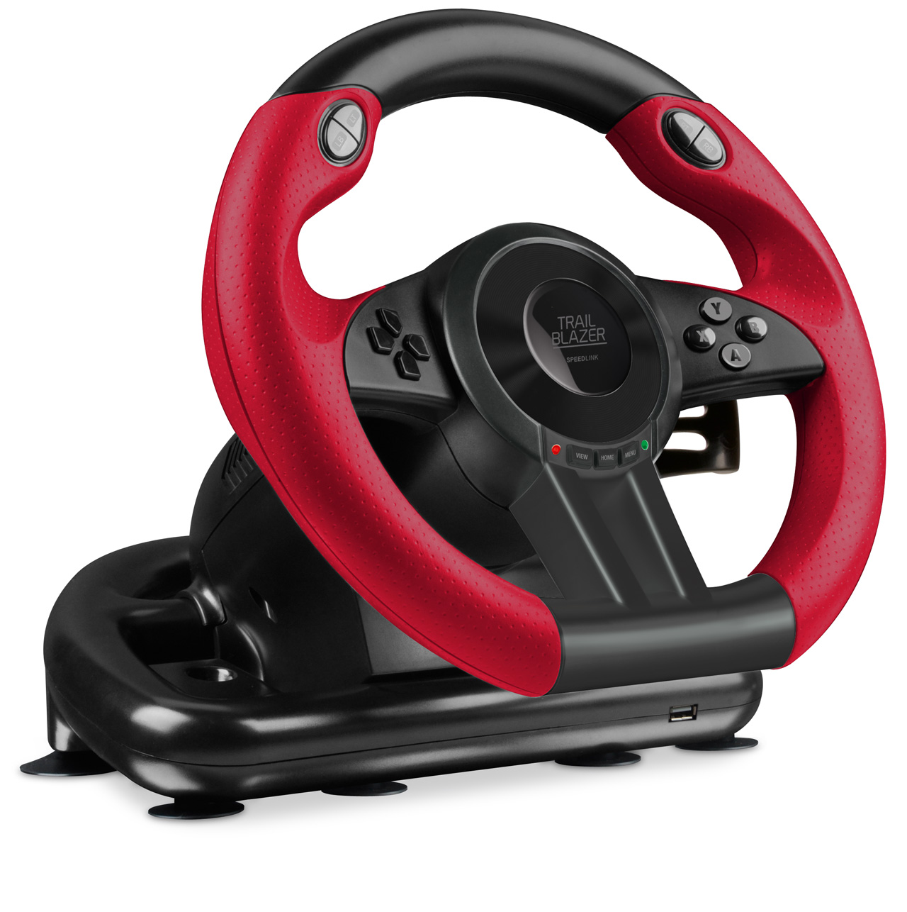 speedlink trailblazer racing wheel review peripherals xsreviews. Black Bedroom Furniture Sets. Home Design Ideas