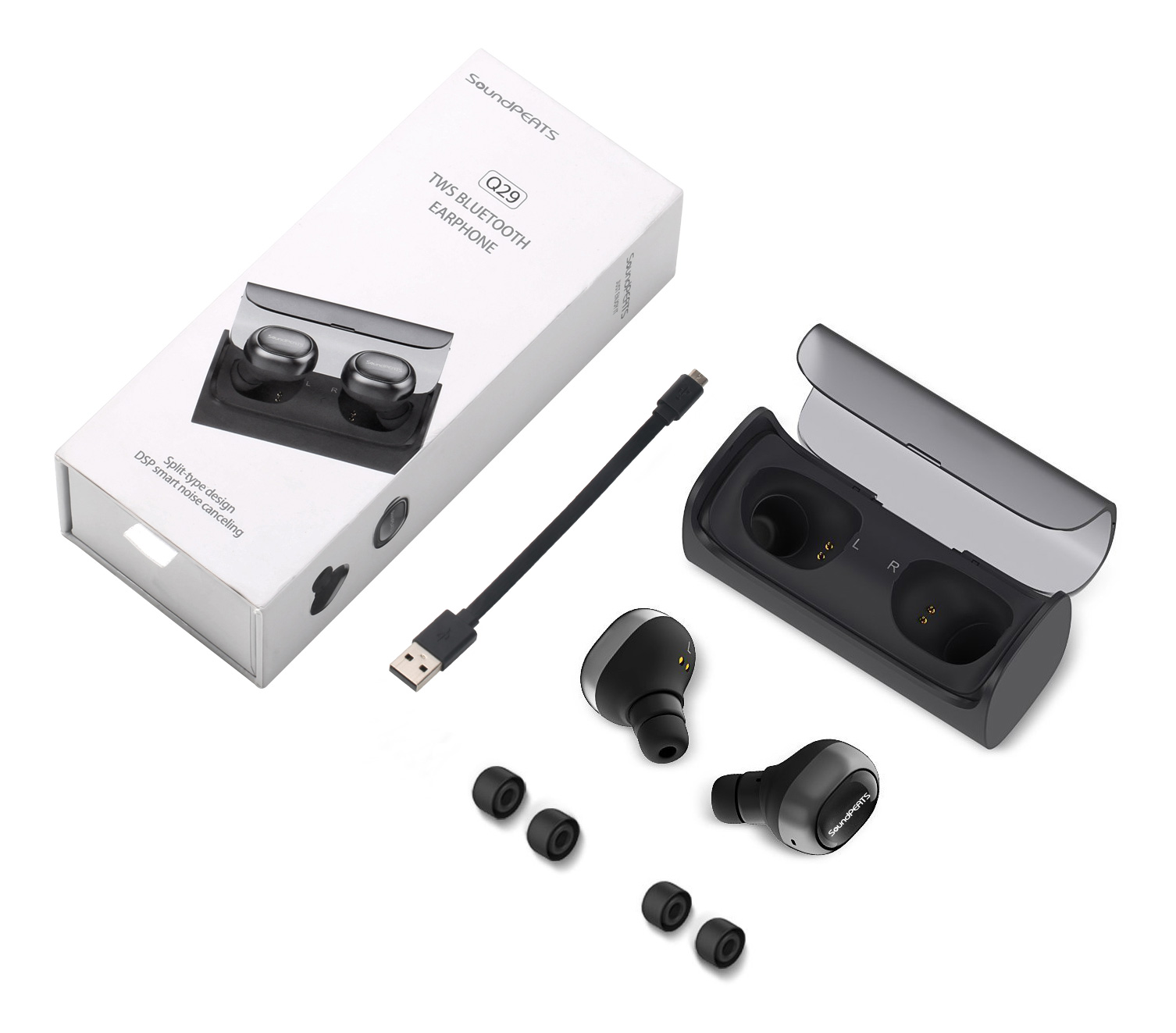 soundpeats q29 wireless earbuds review review audio xsreviews. Black Bedroom Furniture Sets. Home Design Ideas