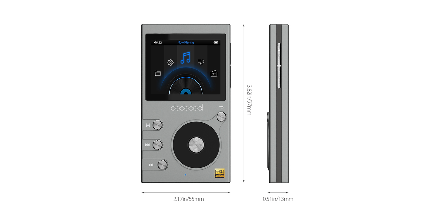 dodocool DA106 Hi-Fi Lossless MP3 player review - Review