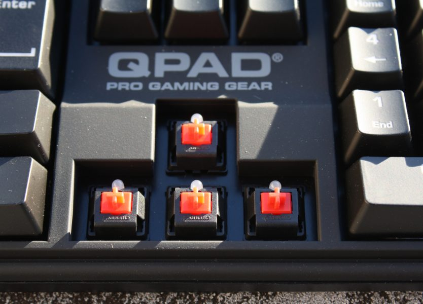 QPAD MK-70 review: a solid backlit mechanical keyboard with
