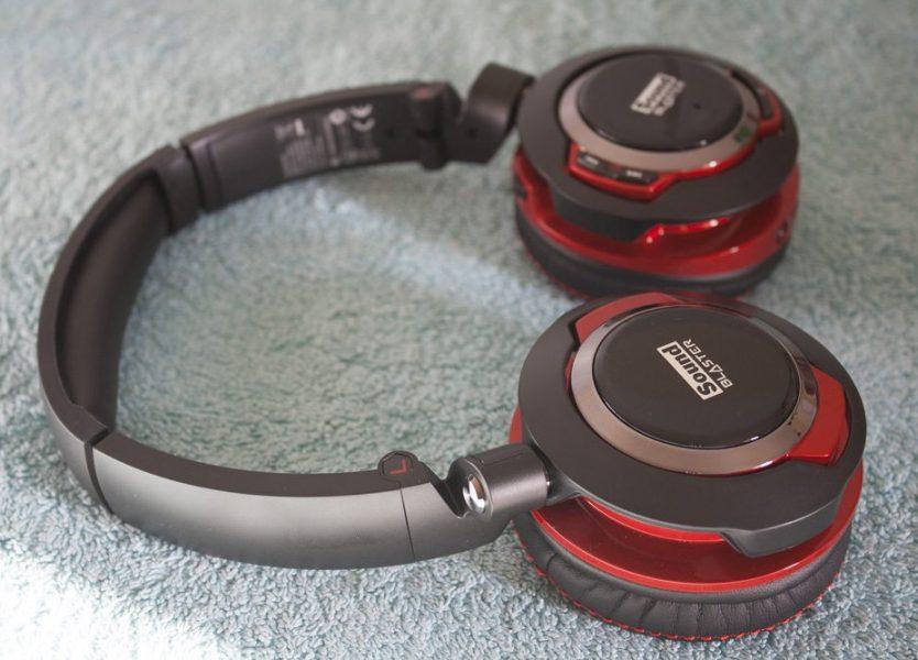 Headphones lightweight 3.5mm bluetooth - Creative Sound Blaster EVO Wireless - headset Overview