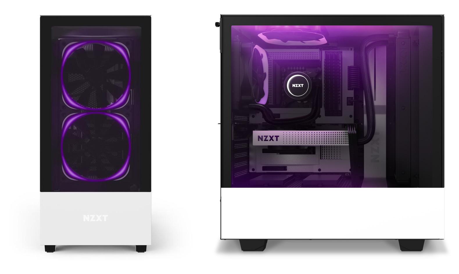CONFIGURAZIONE PC GAMING CASE NZXT KRAKEN H510 ELITE